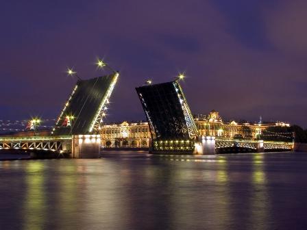 экскурсия на разводные мосты